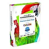 Hammermill Printer Paper, Color Copy Digital Copy Paper, 28lb, 8.5 x 11, 3 Hole, 100 Bright - 1 Pack / 500 Sheets (102500R)