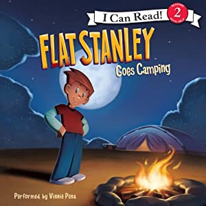 Flat Stanley Goes Camping Audiobook
