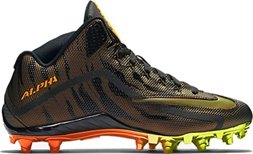 Design Nike Football Cleats - NIKE Men's Alpha Pro 2 Football Cleat (12 D(M) US, Multi)
