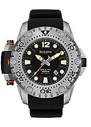 Bulova Men's 96B226 Analog Black Stainless Steel Sea King Limited Watch