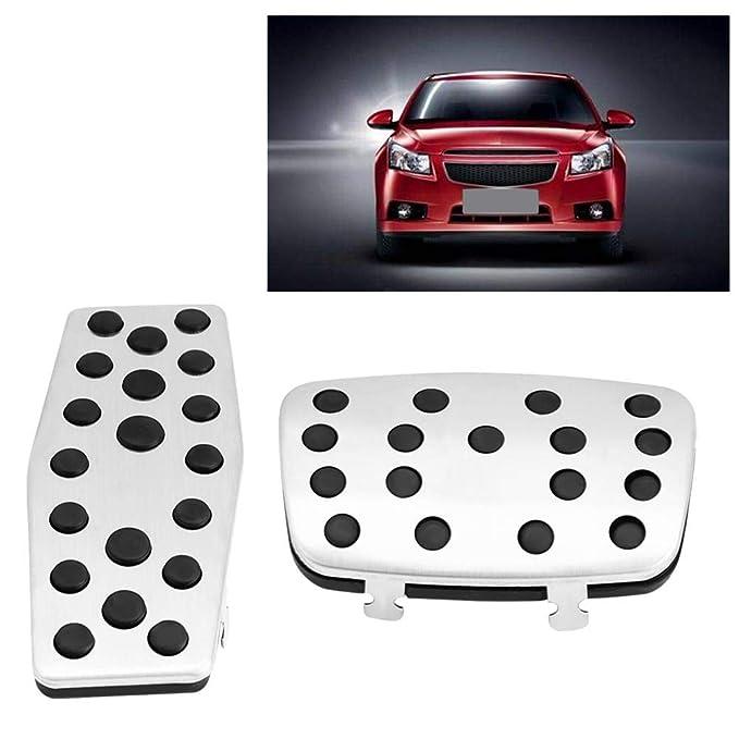 Pedales de freno del pie del embrague del coche, Cubierta de pedal, Antideslizante(2 piezas (para vehículo automático)): Amazon.es: Coche y moto