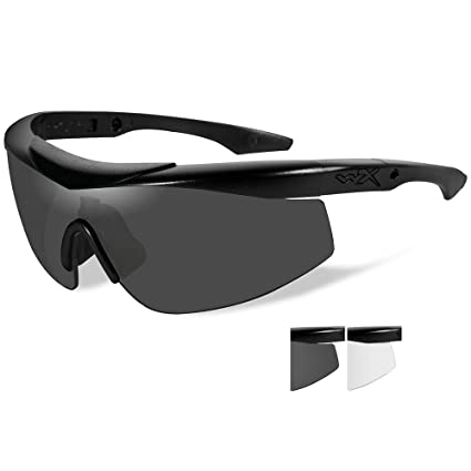 49a8866600 Image Unavailable. Image not available for. Color  Wiley X CHTLN1 Wx Talon  Advanced Changeable Sunglasses ...