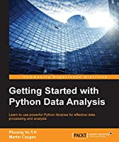 Getting Started with Python Data Analysis Front Cover