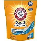 Arm & Hammer 2-IN-1 Laundry Detergent Power Paks, 70 ct