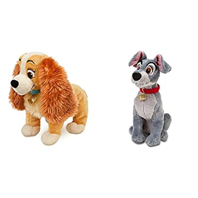Disney Store Exclusive Bundle 14 Lady and 16 Tramp Plush: Toys & Games