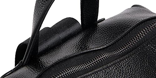 bolso de hombro femenino / mochila sencilla ( Color : Azul ) Negro