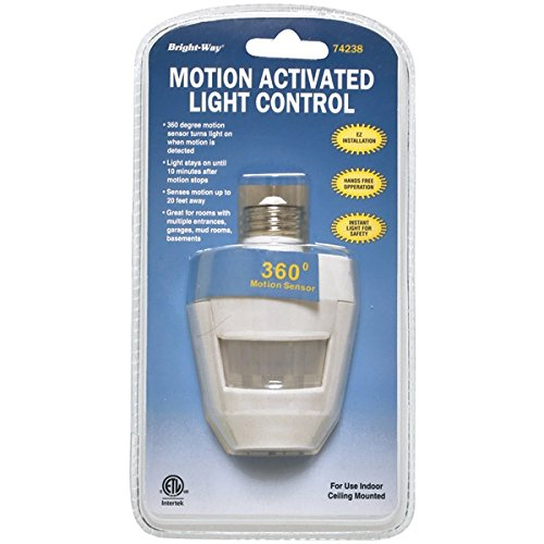 picture of BRIGHT-WAY 74238 Motion Activated 360 Indoor Light