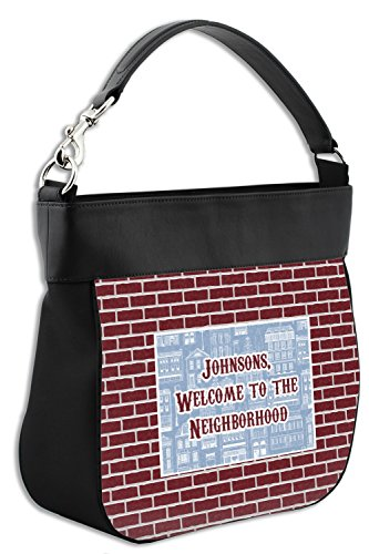 w Housewarming Trim Genuine Leather Front Personalized Back amp; Purse Hobo ZrxqpEr