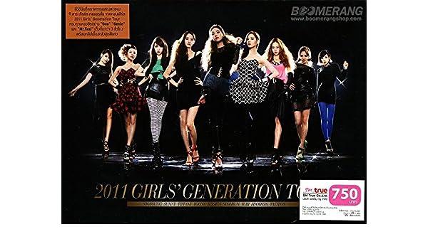 Amazon com: Girls' Generation: 2011 Girls' Generation Tour
