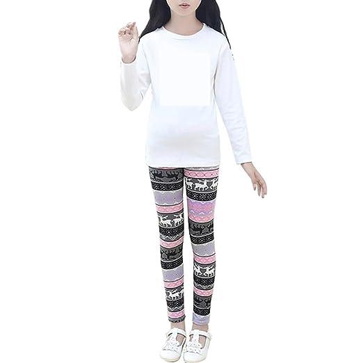 girls leggings tloowy girls christmas flower print leggings pants comfy children toddler kid tights trousers
