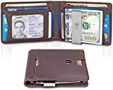 TRAVANDO Slim Wallet with Money Clip RFID Blocking Wallet   Credit Card Holder   Travel Wallet   Minimalist Mini Wallet Bifold for Men with Gift Box