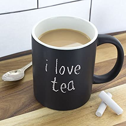 Buy Smartcraft Black Board Mug Coffee Tea Mug Unique Coffee Mug Coffee Cup Online At Low Prices In India Amazon In