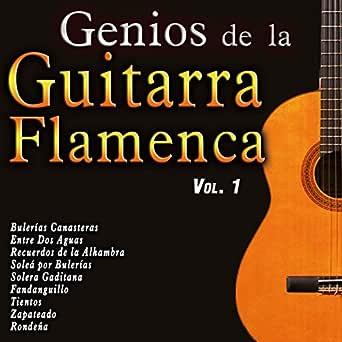 Genios de la Guitarra Flamenca, Vol. 1 de Various artists en ...