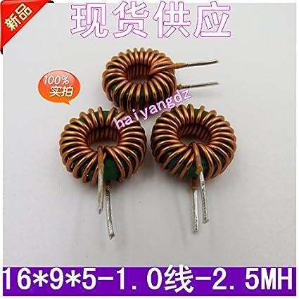 Shomy 5pcs/16 * 9 * 5 2 5MH 1 0 Line Annular inductance