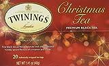 Twinings of London Christmas Black Tea Bags, 20 Count
