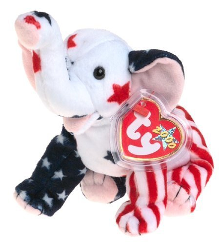 Righty 2000 the Elephant - Ty Beanie Baby by Ty