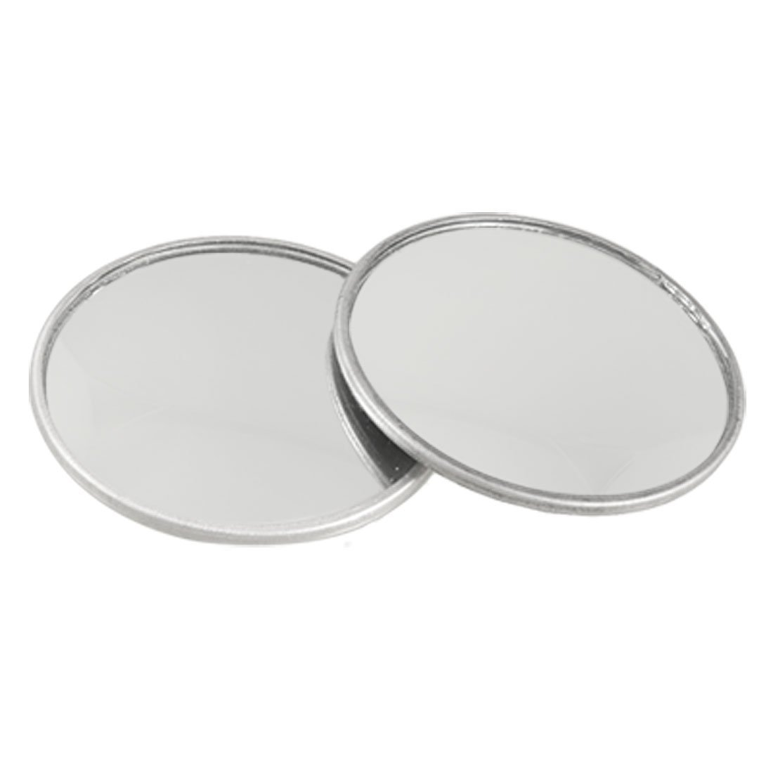 R SODIAL 2 Pcs 2 Diameter Convex Self Adhesive Blind Spot Mirror for Car