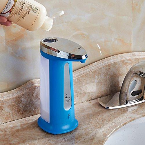 XUEQIN Baño Caja de Jabón Cabido Shampoo Gel de Ducha ABS Material Detección Automática Escritorio colocado Conveniente Para Cocina Hotel Pasta de tocador ...