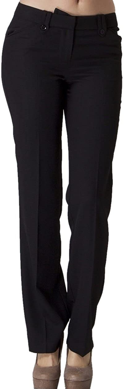 Vitamina USA Buttoned Slim Fit Dress Pants #2576