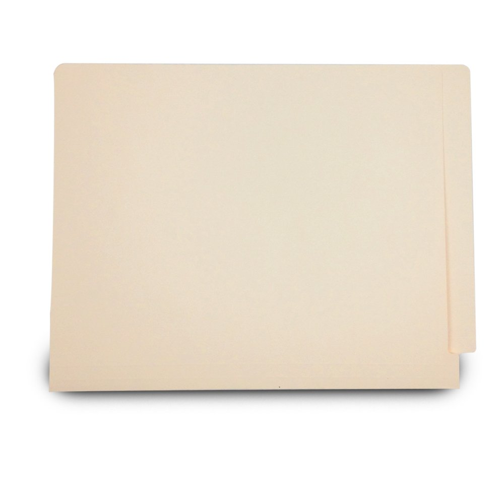Medical Arts Press Match 11pt Full Cut End Tab File Folders without Fasteners- Letter Size (500/Carton)