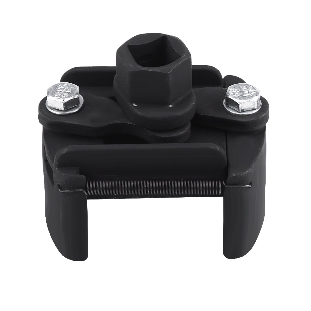 Oil Filter Wrench, Universal Adjustable 60mm-80mm 2 Jaw Oil Filter Wrench Spanner Remover Tool Keenso