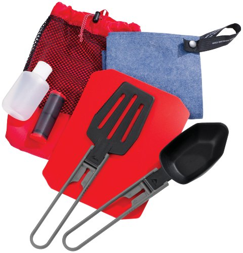 Msr Camping Cookware (MSR Ultralight Utensil and Dish-Washing Kitchen Set)