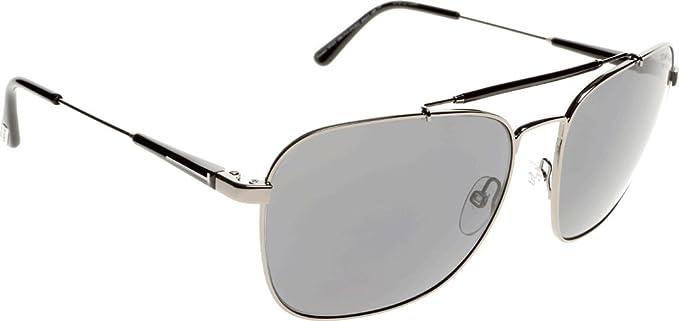 a3944e29a2 Tom Ford Edward Aviator Sunglasses in Matte Gunmetal Polarised FT0377 09D 60  60 Grey Polarised