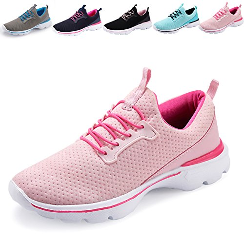 XINBEIGE Women's Lightweight Tennis Shoes Breathable Walking Sneakers Sports Yoga Jogging Running Shoes