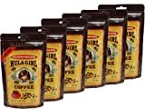 Hula Girl Instant 100% Kona Coffee Freeze Dried Pouch (50G) - Pack Of 6