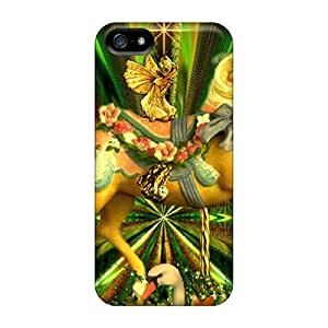 AlexandraWiebe Premium Protective Hard Cases For Iphone 5/5s- Nice Design - Lilly Horse