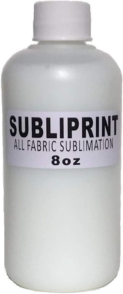 Subliprint Sublimation Coating for Cotton Fabric T-Shirts Wood and All Porous Surfaces Hats Art Canvas Pillowcases Baby Clothes