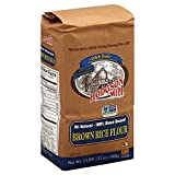 Hodgson Mill All Natural Brown Rice Flour 2 LB (Pack of 18)