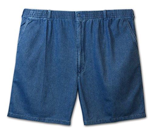 23159183bb Lord Daniel LD Sport Big Man Fully Elastic Five Pocket Denim Short (Denim  3X)
