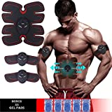 Muscle Stimulator, Muscle Trainer,Gym Training Head Office Abdominal Fitness Equipment/Arms / Legs Training The Ultimate ABS Stimulator for Men and Women