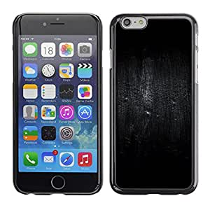 Paccase / SLIM PC / Aliminium Casa Carcasa Funda Case Cover para - Bird Darkness Rain Deep - Apple Iphone 6