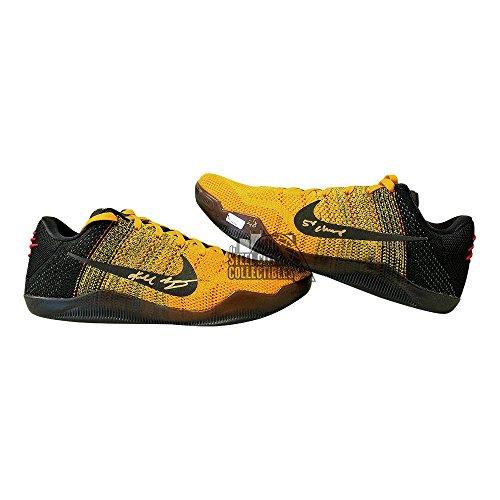 Kobe Bryant Autographed Nike Kobe XI Elite Low Shoes Inscription #2/8 Panini COA - Panini Certified - Autographed NBA Sneakers ()