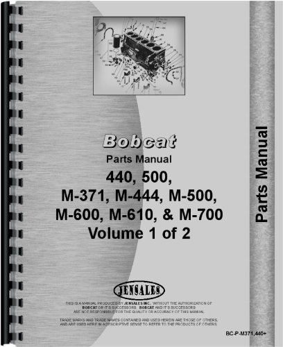 New Bobcat M-700 Tractor Parts Manual