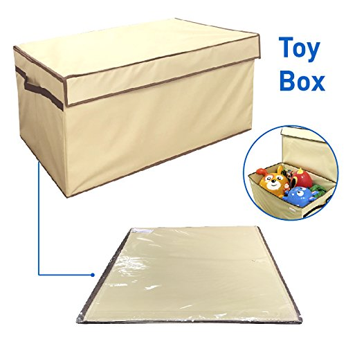 New Toy Box Folding Toy Trunk Organizer Chest Collapsible