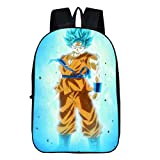 Siawasey Dragon Ball Z Anime Goku Cosplay Backpack Daypack Bookbag Laptop Bag School Bag