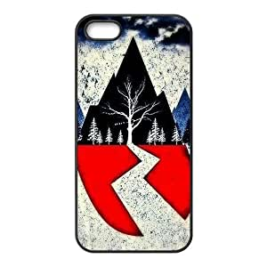 iPhone 5,5s Case,Custom Sirens Durable Protector Back Cover Case for iPhone 5 5s TPU