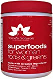 Women's Superfood Vital Reds & Greens, Made with Organic Ingredients. (30-Day): Doctor-Formulated for Women. Whole Foods, Vitamins, Fruits & Veggies, Probiotics, Digestive Enzymes & Polyphenols. For Sale