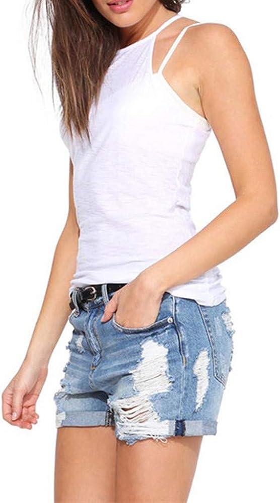 VEMOW Mujer Vestidos Mujer Vestir Ropa Mujer Falda Chaleco Camisetas Blusa De Fiesta Mujer Tops Mujer Verano Ropa De Mujer Camisas Largas Mujer(Blanco, S): Amazon.es: Ropa y accesorios