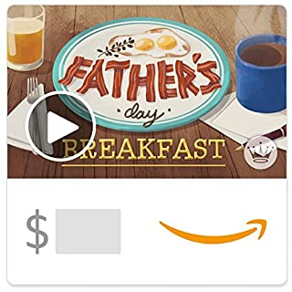 Amazon eGift Card -Father's Day Breakfast (Animated) [Hallmark] (B06XX6NKTJ) | Amazon price tracker / tracking, Amazon price history charts, Amazon price watches, Amazon price drop alerts