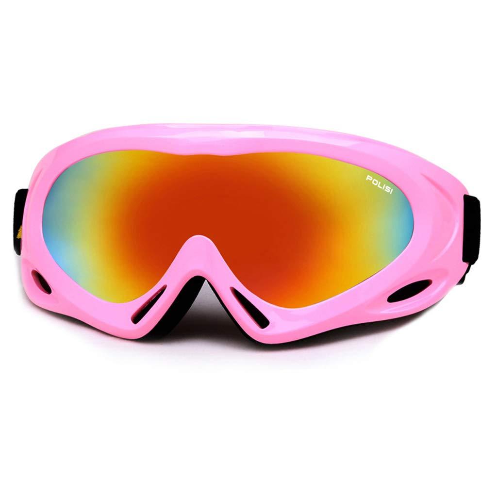 SX-CHENG Winddichte Brille - Anti-Fog Skibrille Skibrille Brille Wind Auswirkungen Bergsteigen Schnee Spiegel