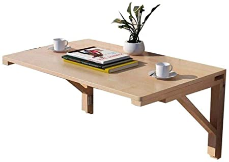 ZhuFengshop Laptop Table Mesa Plegable Montado En La Pared De ...