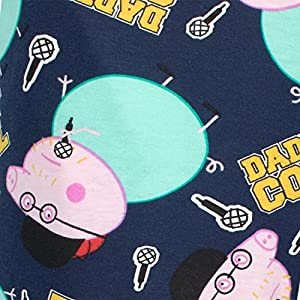Peppa Pig Mens Lounge Pants Daddy Pig