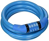#10: Etronic Security Lock M4 Self Coiling Cable Lock, 4-Feet x 5/16-Inch