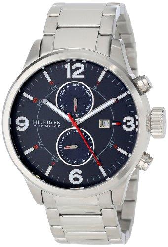 Tommy Hilfiger Men's 1790903 Casual Sport Stainless Steel Multi-Eye Watch