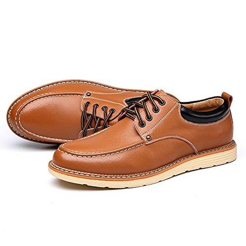 EU BMD uomo pelle 39 Marrone in pelle Shoes da Scarpe Scarpe Color lavoro da di Dimensione Marrone PU 4qpr18a4