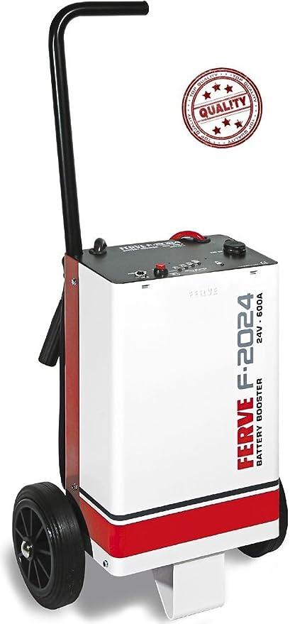 Ferve Arrancador baterias 24V 600A F2024: Amazon.es: Coche y ...